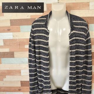 ザラ(ZARA)の【ZARA MAN】 美品 ザラ マン ニットカーディガン アクリル サイズM(カーディガン)