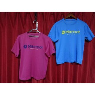 マーモット(MARMOT)の◇◆マーモットMarmot 実用さらさら素材ウエア2着メンズM 状態訳あり◇◆(Tシャツ/カットソー(半袖/袖なし))