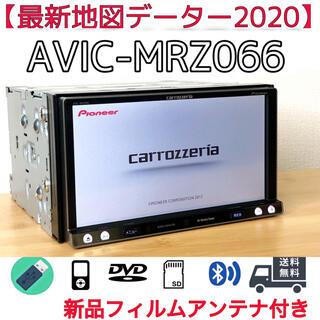 Pioneer - 【最新地図2020年 楽ナビ】地デジ内蔵/Bluetooth/DVD/CD/SD