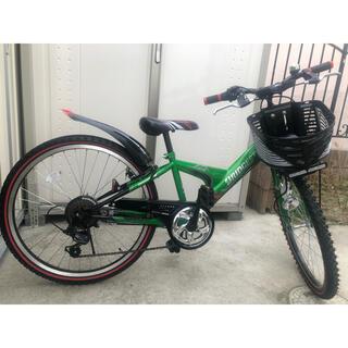 ブリヂストン(BRIDGESTONE)の美品 子供用自転車 BRIDGESTONE 24型CTB エクスプレスJr(自転車)