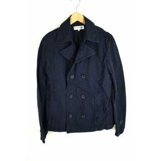 ヴァンキッシュ(VANQUISH)のVANQUISH(ヴァンキッシュ) 製品染め 綿ショートPコート メンズ コート(ピーコート)