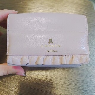 ランバンオンブルー(LANVIN en Bleu)のアリス 三つ折り財布(財布)