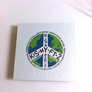 キスマイフットツー(Kis-My-Ft2)のキスマイワールド  初回盤 DVD(ミュージック)