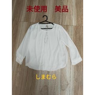 シマムラ(しまむら)の未使用 ブラウス Mサイズ(シャツ/ブラウス(長袖/七分))