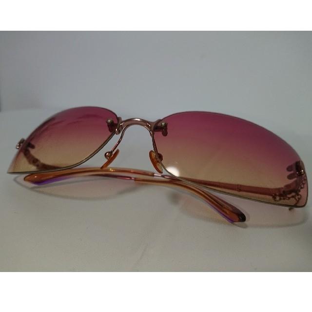 JILLSTUART(ジルスチュアート)のジルスチュアート サングラス ピンク レディース ケース付き 使用済  レディースのファッション小物(サングラス/メガネ)の商品写真