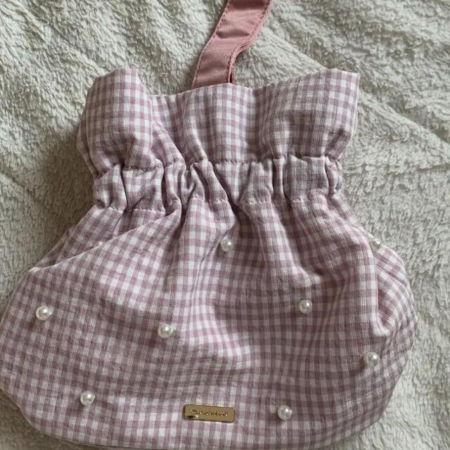 Maison de FLEUR(メゾンドフルール)のメゾンドフルール バッグ 巾着 レディースのバッグ(ハンドバッグ)の商品写真
