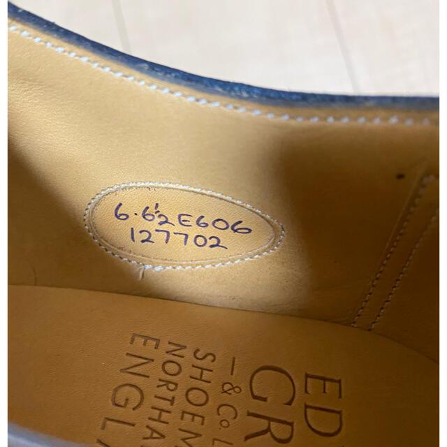EDWARD GREEN(エドワードグリーン)の【未使用】エドワードグリーン ドーバー UK6E ブラック メンズの靴/シューズ(ドレス/ビジネス)の商品写真