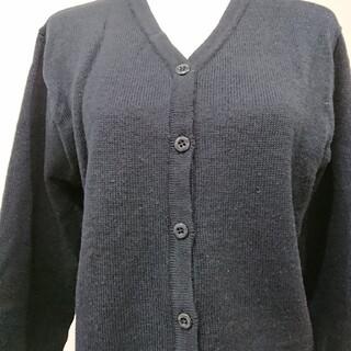 ミッシェルクラン(MICHEL KLEIN)の桜花学園  冬用 カーディガン M 制服 ミシェルクラン(カーディガン)