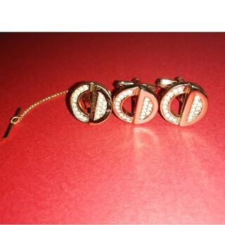 クリスチャンディオール(Christian Dior)の美品‼️Dior  ディオール カフスセット (カフリンクス)