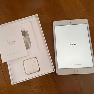 アップル(Apple)のiPad mini4 16GB ゴールド Wifi+Cellularドコモ(タブレット)
