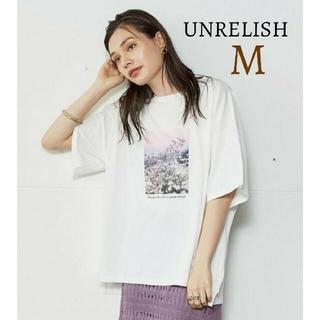 UNRELISH - 新品 アンレリッシュ フォトプリント バックロゴTシャツ トップス 半袖