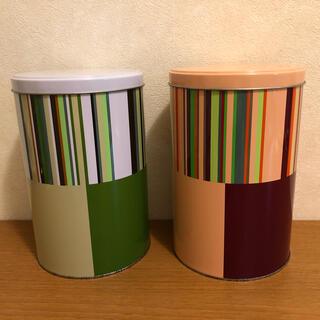 イッタラ(iittala)のiittala オリゴ TIN缶 【Green・Pink】(収納/キッチン雑貨)