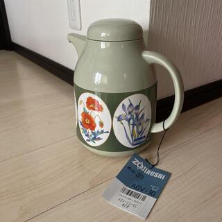 象印 - 未使用☆ZOJIRUSHIポット 潤(うるおい) 茶こしつき AGV-10  藍