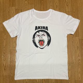 アキラプロダクツ(AKIRA PRODUCTS)のAKIRA アキラ Tシャツ 金田 鉄雄 薬 ホワイト(Tシャツ/カットソー(半袖/袖なし))