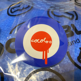 ココロブランド(COCOLOBLAND)の51 非売品 新品 cocolo bland ココロブランド ステッカー シール(その他)