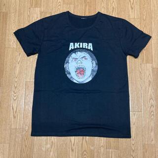 アキラプロダクツ(AKIRA PRODUCTS)のAKIRA アキラ Tシャツ 金田 鉄雄 薬 ブラック(Tシャツ/カットソー(半袖/袖なし))