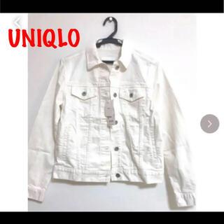 UNIQLO - UNIQLO ジージャン デニムジャケット S 新品