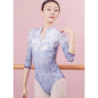 チャコット(CHACOTT)の七分袖 フロントジッパー レオタード(ダンス/バレエ)