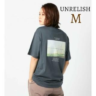 UNRELISH - 新品 アンレリッシュ フォトプリント バックプリントTシャツ トップス半袖