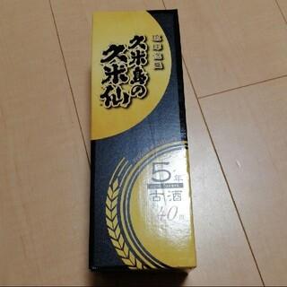 久米島の久米仙 ブラック5年古酒(焼酎)