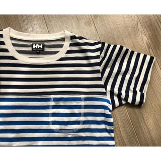 ヘリーハンセン(HELLY HANSEN)のヘリーハンセン /ボーダーTシャツ/Mサイズ/レディース(Tシャツ(半袖/袖なし))