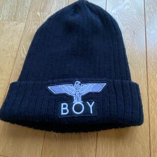 ボーイロンドン(Boy London)のBOY ニット帽(ニット帽/ビーニー)