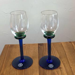 イッタラ(iittala)の北欧ガラス ワイングラス ペア ボウル(食器)
