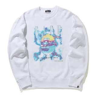 A BATHING APE - BAPE LIGHTNING CREWNECK トレーナー