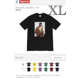 シュプリーム(Supreme)のsupreme pharoah sanders TEE Tシャツ black 黒(Tシャツ/カットソー(半袖/袖なし))