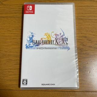ニンテンドースイッチ(Nintendo Switch)の新品未開封 ファイナルファンタジーX/X-2 HD リマスター Switch(家庭用ゲームソフト)