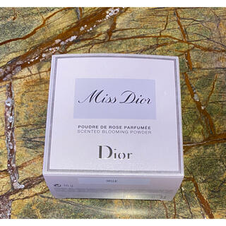 Christian Dior - dior ディオール ミスディオール ボディパウダー 限定