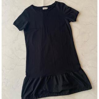 モンクレール(MONCLER)の正規保証 国内正規品 中古 モンクレール ABITO ドレス 半袖ワンピース(ひざ丈ワンピース)