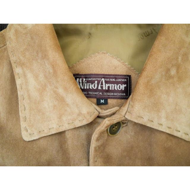 schott(ショット)のwindarmor スエードジャケット ベージュ ブラウン メンズのジャケット/アウター(レザージャケット)の商品写真