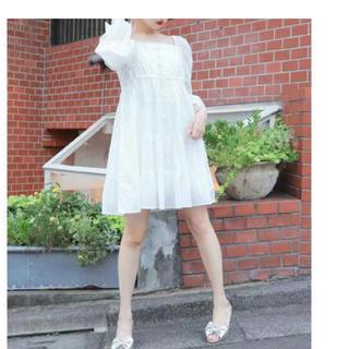 ケイティー(Katie)のNO COUNTRY folky dress(ミニワンピース)