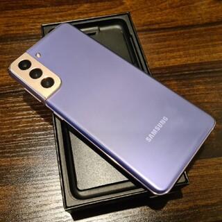 ギャラクシー(Galaxy)のGalaxy S21 5G Dual SIM(スマートフォン本体)