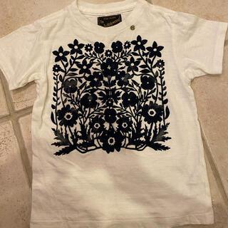 ゴートゥーハリウッド(GO TO HOLLYWOOD)のgo to hollywood フラワーTシャツ 120(Tシャツ/カットソー)
