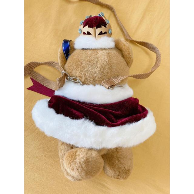 Angelic Pretty(アンジェリックプリティー)のbritish bearぬいぐるみポーチ crown bear エンタメ/ホビーのおもちゃ/ぬいぐるみ(ぬいぐるみ)の商品写真