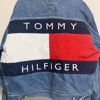 トミーヒルフィガー(TOMMY HILFIGER)の【希少】TOMMY Gジャン ジャケット 90's レア 値下げ中!(Gジャン/デニムジャケット)