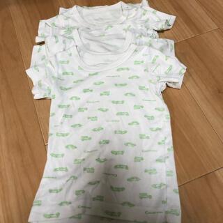 コンビミニ(Combi mini)のさらさらキープ半袖Tシャツ(クルマ)90(下着)
