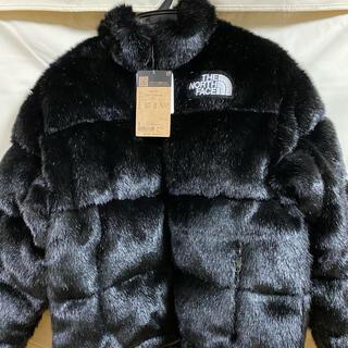 シュプリーム(Supreme)のsupreme fuax fur nuptse jacket(ダウンジャケット)
