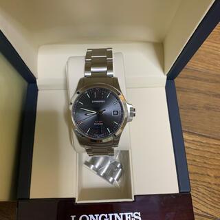 ロンジン(LONGINES)の新品同様◆LONGINES◆V.H.P コンクエスト 超高精度◆L3.716.4(腕時計(アナログ))