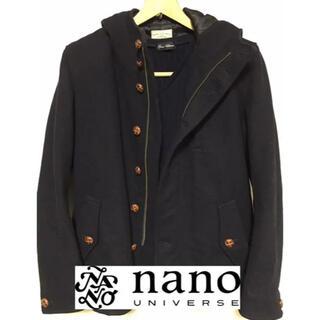 ナノユニバース(nano・universe)のナノユニバース40サイズ くるみボタン コート Vネックニット まとめ売り(ピーコート)