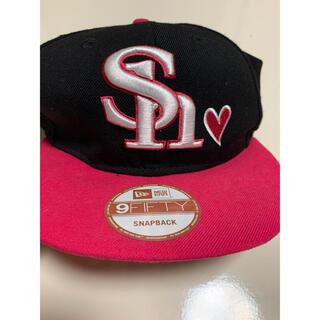 ニューエラー(NEW ERA)のソフトバンクホークス 帽子(応援グッズ)