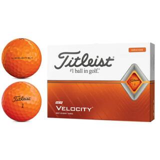 タイトリスト(Titleist)のTitleist VELOCITYゴルフボール 1ダース [12球入り](その他)