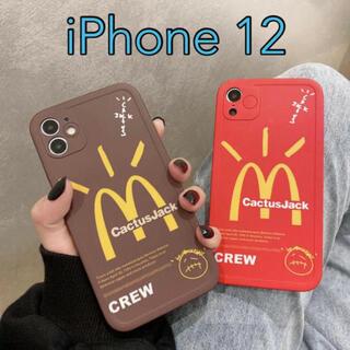 Travis Sccot トラヴィススコット iPhone12ケース マクド(iPhoneケース)