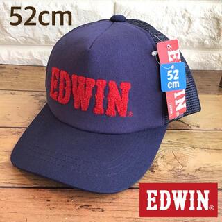 エドウィン(EDWIN)の【52cm】エドウィン キャップ 帽子 ネイビー(帽子)