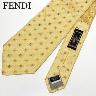 FENDI - ☆美品☆ズッカ柄☆フェンディ ネクタイ スーツ ビジネス メンズ シルク