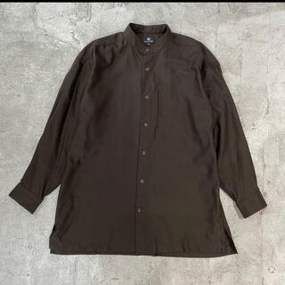 イッセイミヤケ(ISSEY MIYAKE)の90's Vintage im ISSEY MIYAKE バンドカラー シャツ(シャツ)