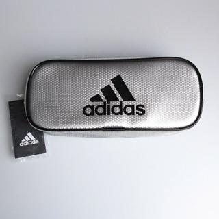 アディダス(adidas)のアディダス adidas ペンケース 筆入れ シルバー(ペンケース/筆箱)