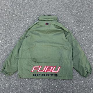 FUBU - 90s 古着 fubu フブ ナイロンジャケット トラックトップ